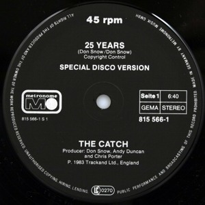 25 Years (Young Edits Catchy Re-Rub)  by The Catch