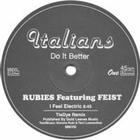Rubies Ft. Feist & Simone Rubi I Feel Electric (Tiedye Remix) Artwork