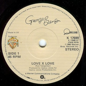 Love X Love [Late Nite Tuff Guy Edit] by George Benson