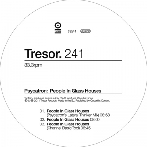 New techno release on Tresor label