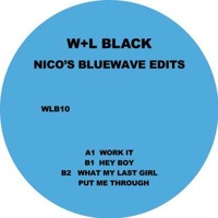 Missy Elliott Work It (Nicolas Jaar Bluewave Edit) Artwork