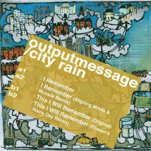 Aligning Minds, Output Message, City Rain, Mussck, Valance Drakes