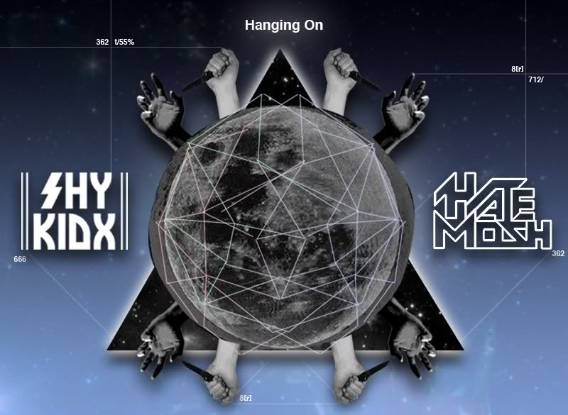 Hate Mosh & Shy Kidx - Hanging On (Single|Darkstep|2011)