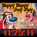 3MT Music Ren and Stimpy TV Theme Remix Artwork