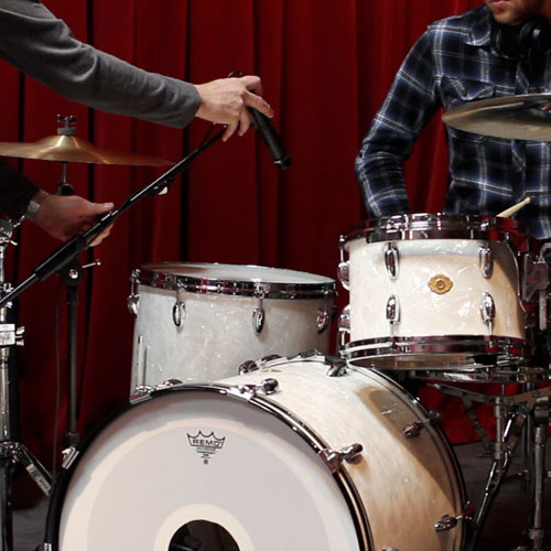Recording drums with Apogee Duet 2 and Shure Beta 52/ Shure SM57 by Apogee Electronics