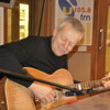 Tommy Emmanuel live performance and interview on U105 Drive with Johnny Hero