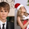 Justin Bieber and Mariah Carey