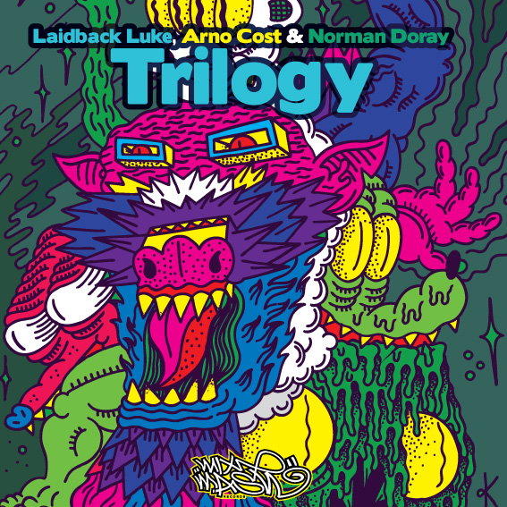 Arno Cost, Norman Doray &amp; Laidback Luke - Trilogy