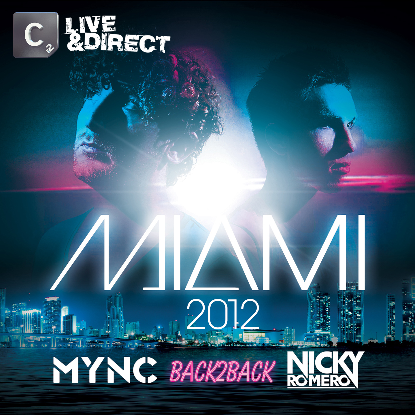  MYNC &amp; Nicky Romero to release &quot;Miami 2012&quot; compilation on Cr2 Records