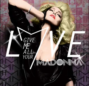 capa Madonna   Give Me All Your Luvin (2012)