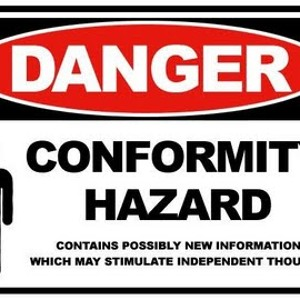 danger conformity Dangers of conformity john galbraith writes, humanity s most valuable assets have been the non-conformists were it not for the non-conformists, he who.