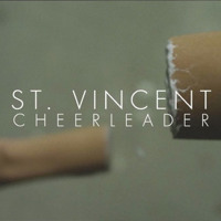St. Vincent Cheerleader Artwork