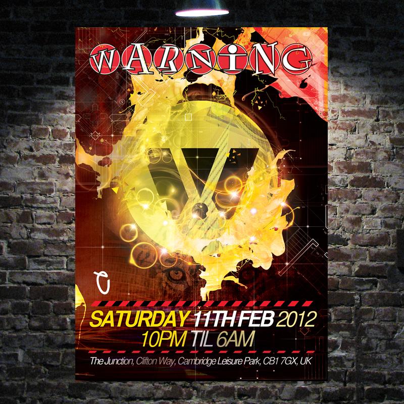 Warning @ The Junction, UK (11.02.2012)