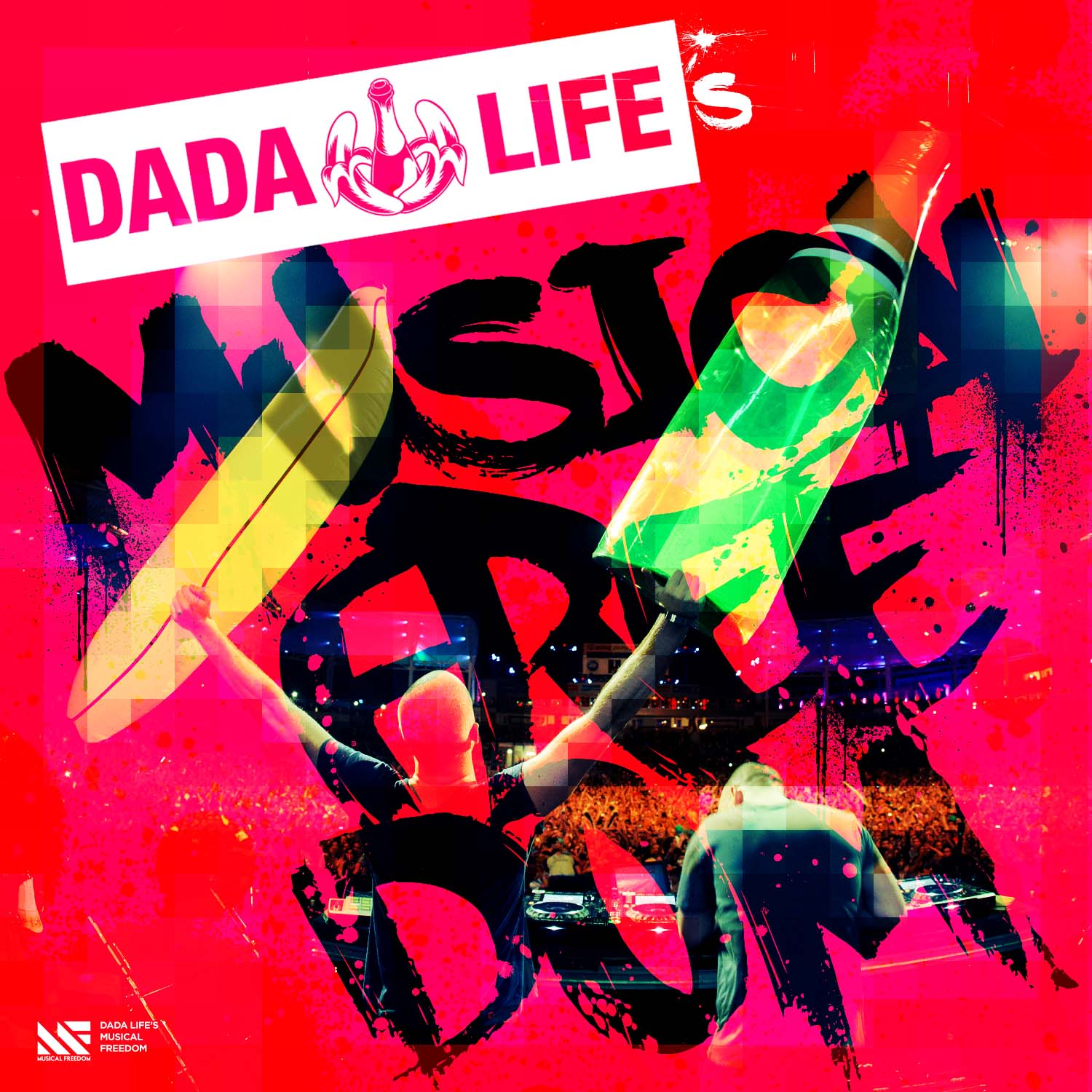 "Dada Life to release their first ever mixed compilation ""Dada Life's Musical Freedom"""
