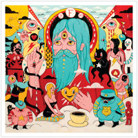 Father John Misty Hollywood Forever Cemetery Sings Artwork