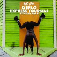 Diplo Express Yourself (Ft. Nicky Da B) Artwork