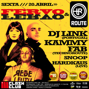 DJ Link at Fervo & Techno Route - Clash Club Sao Paulo Brasil (20.4.12) Artworks-000022219512-yqkv85-crop