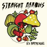 Straight Arrows Something Happens Artwork