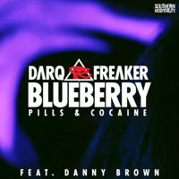 Darq E Freaker Ft. Danny Brown Blueberry (Star Slinger remix) Artwork