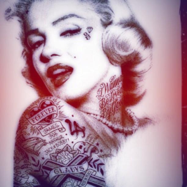 the gallery for gt gangster marilyn monroe wallpaper