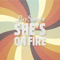 Bo Saris She's On Fire (Maya Jane Coles Remix) Artwork