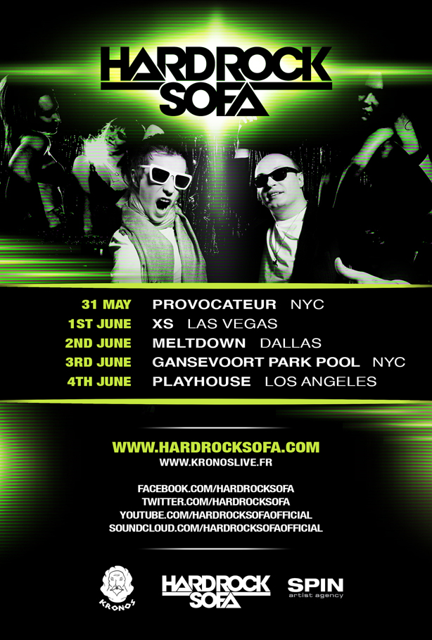 Hard Rock Sofa - May 2012 Podcast