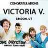 One Direction Concert Sweepstakes Winner!