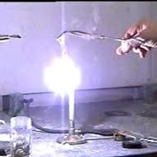 burning magnesium lab