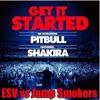 Get It Started Pitbull ft Shakira ESV vs Jump Smokers Hype edit w/Video Link!