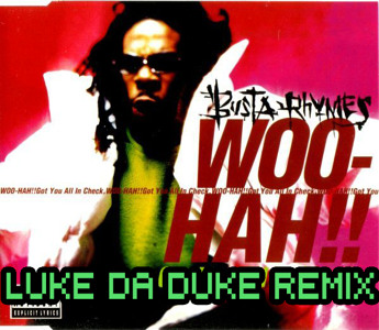 New Glitch Hop Busta Rhymes - Woo Hah (Luke Da Duke Remix).