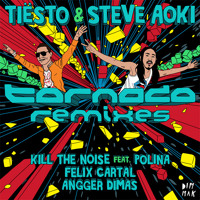 Listen to a new remix song Tornado (Kill The Noise Remix ft. Polina) - Tiesto 