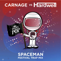 Listen to a new remix song Spaceman (Carnage Festival Trap Remix) - Hardwell