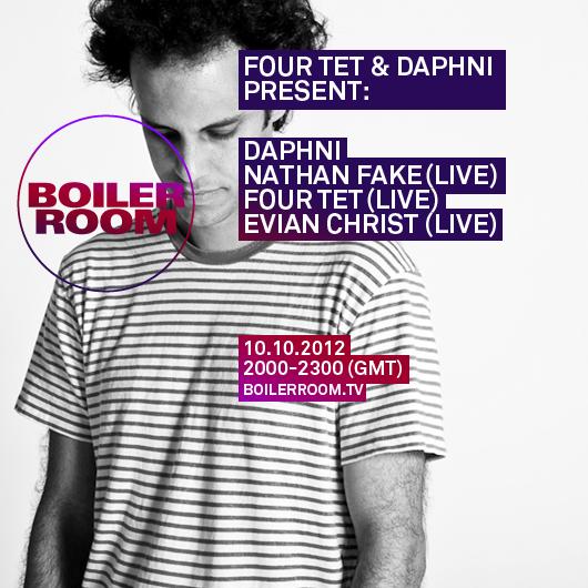 Four Tet & Daphni Takeover @ Boiler Room (10.10.2012)