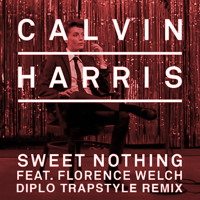 Listen to a new remix song Sweet Nothing (Diplo Trapstyle Remix) - Calvin Harris (ft. Florence Welch)