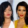 Rihanna/Kim Kardashian, May 30, 2012
