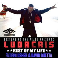 Listen to a new electro song Rest Of My Life (ft. Usher and David Guetta) - Ludacris