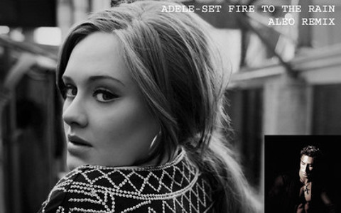 The adele music to free set mp3 fire rain download