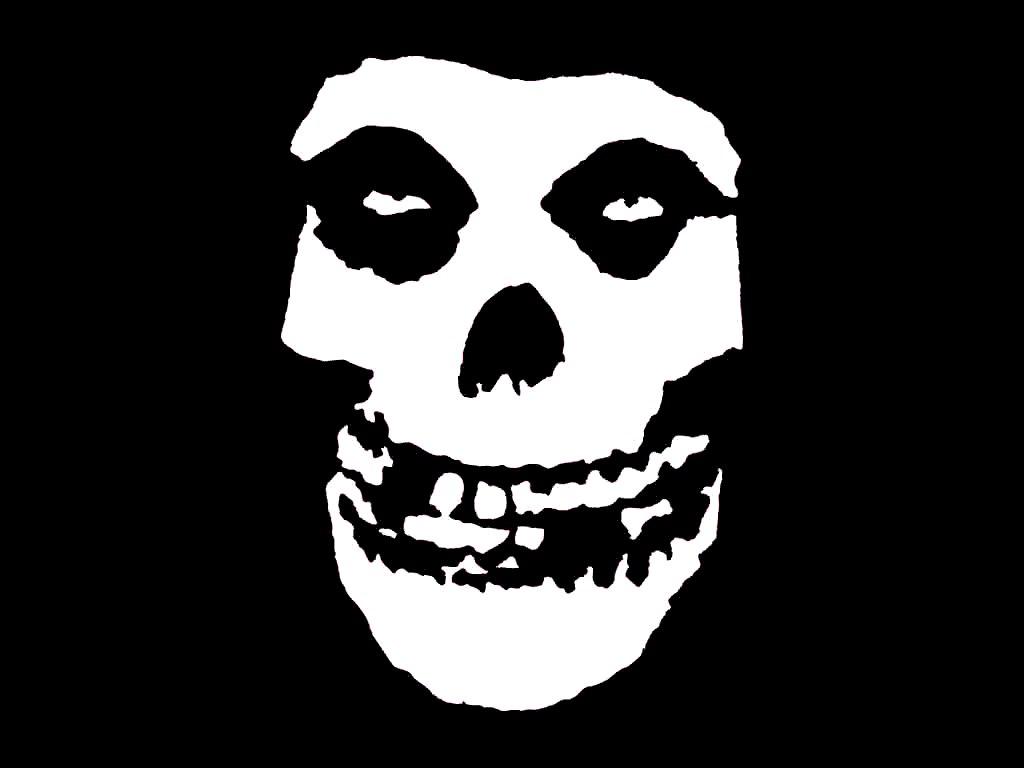 The Misfits Skull Logo Los inadaptados los Misfits