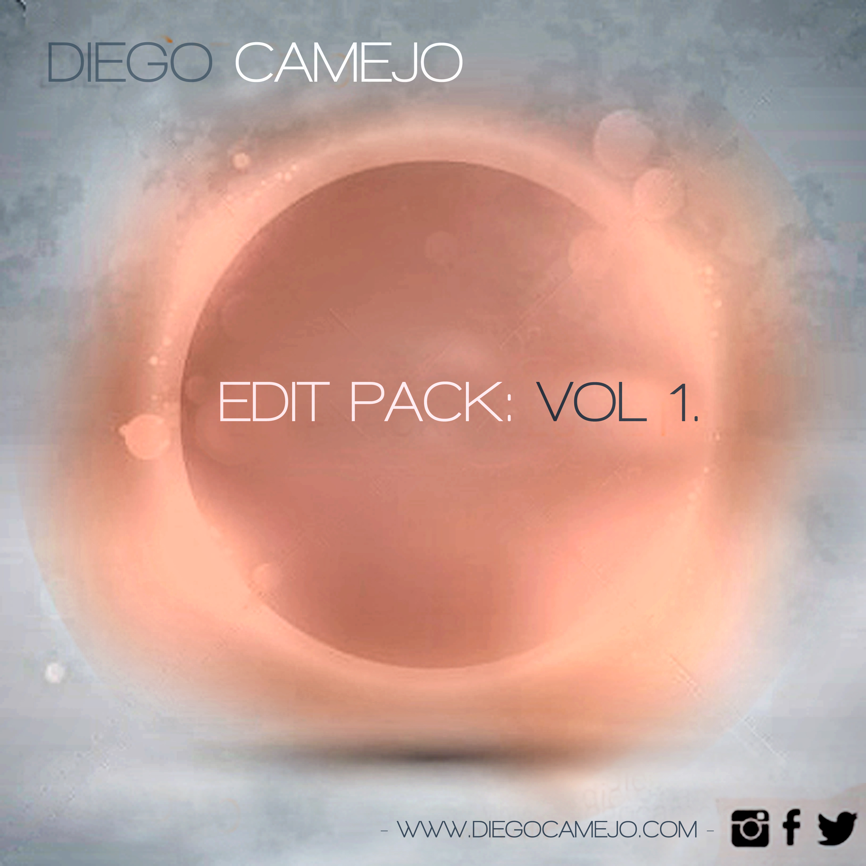 Diego Camejo - Edit Pack: Vol 1