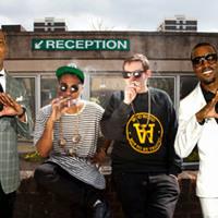 The Hood Internet Goooo In Paris (Jay-Z & Kanye West x TNGHT) Artwork