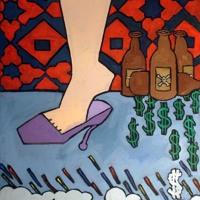 Smokey Robotic Barefoot (Walk on Love) Artwork