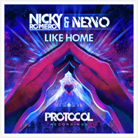 Listen to a new remix song Like Home - NERVO and  Nicky Romero