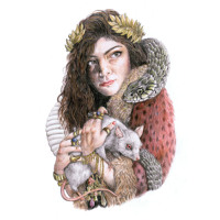 Lorde Bravado Artwork