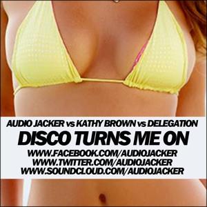 Disco Turns Me On (Original Mix) by Audio Jacker vs Kathy Brown vs Delegation