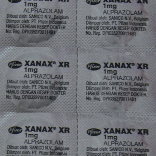 xanax components of air