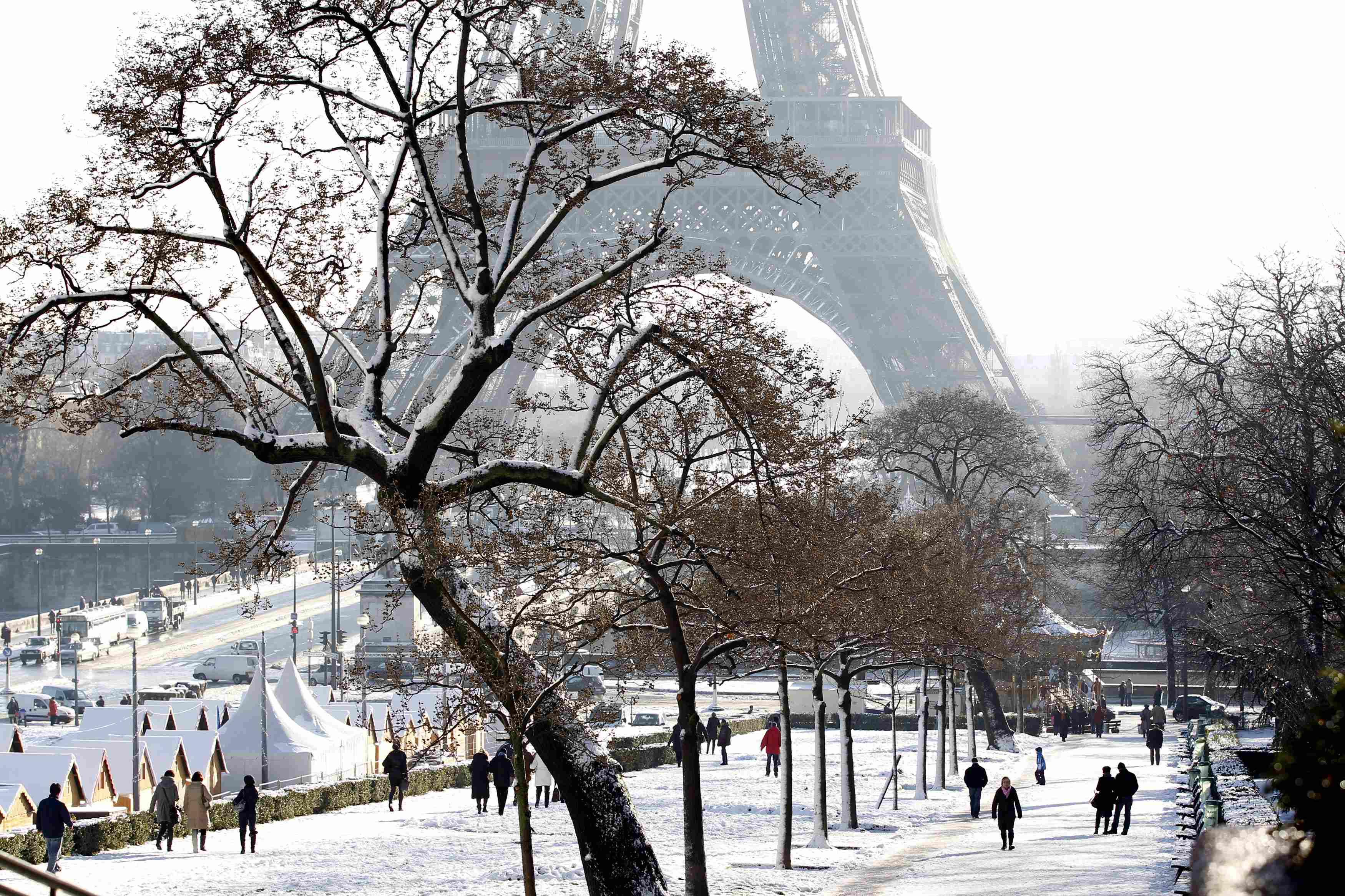 Paris Under The Snow : Pics