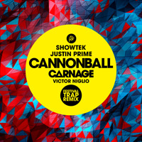 Listen to a new electro song Cannonball (Carnage & Victor Niglio Festival Trap Remix) - Showtek and Justin Prime