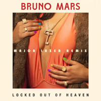 Bruno Mars Locked Out of Heaven (Major Lazer Remix) Artwork