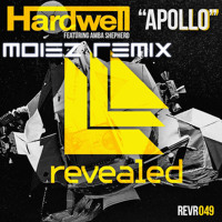 Listen to a new remix song Apollo (Moiez Remix) - Hardwell ft. Amba Shepherd