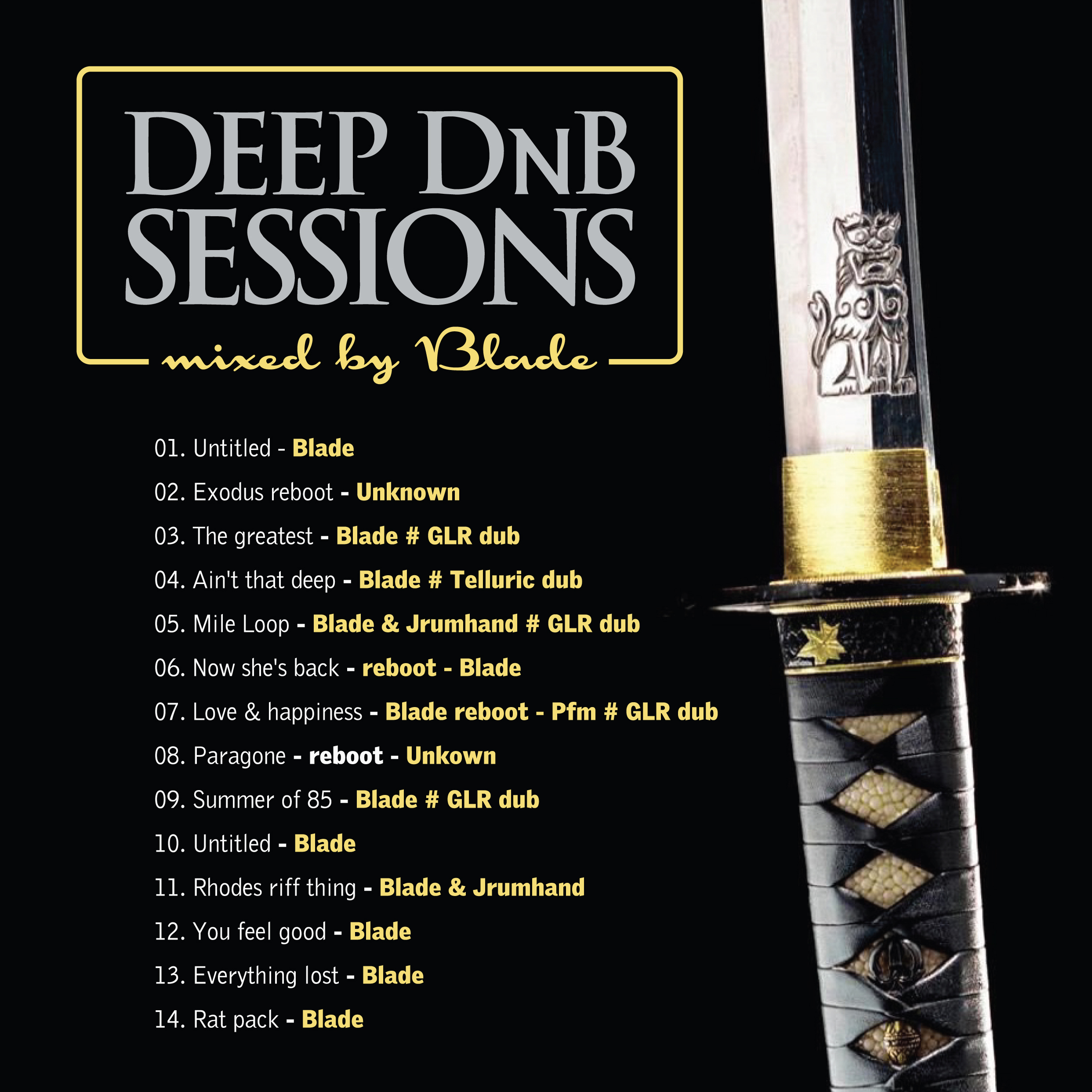Blade - Deep DnB Sessions